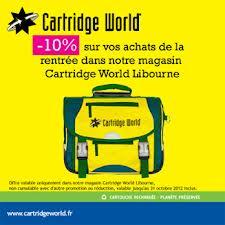 Cartridge World Libourne vous offre 10%
