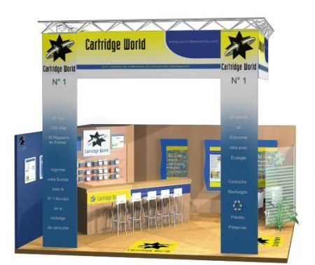 Cartridge World Libourne, le leader mondial de la recharge de votre cartouche d'imprimante